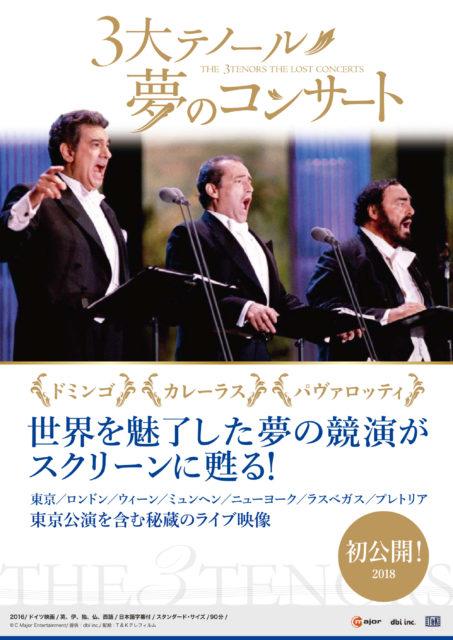 3大テノール 夢のコンサート<アンコール上映>